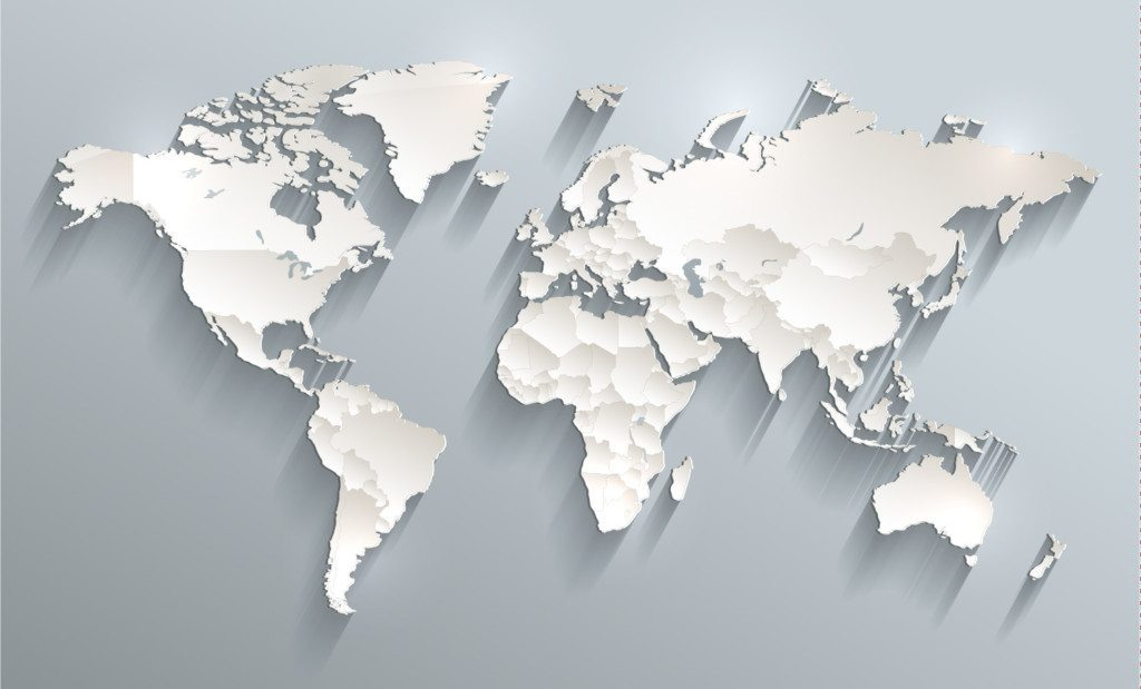 international world map